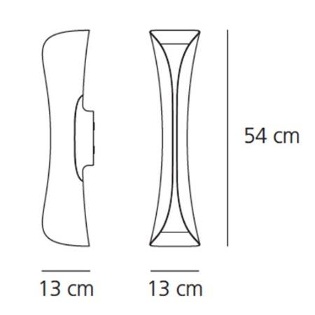 Artemide Lampada da parete - CADMO LED W BCO 1373020a
