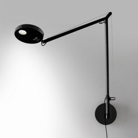 Artemide - DEMETRA WALL LED COLORE BLACK 1734040a