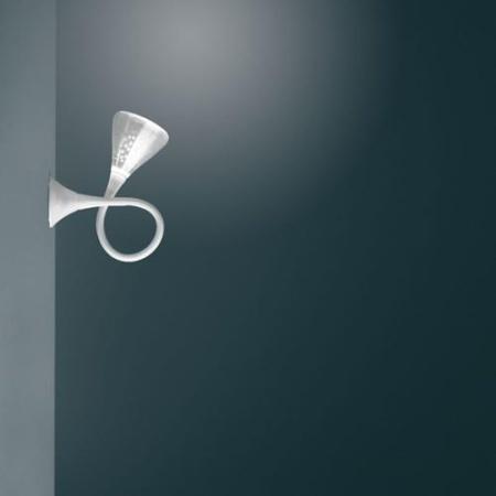 Artemide Lampada da parete o soffitto - PIPE LED C/W  2700K 0671w10a