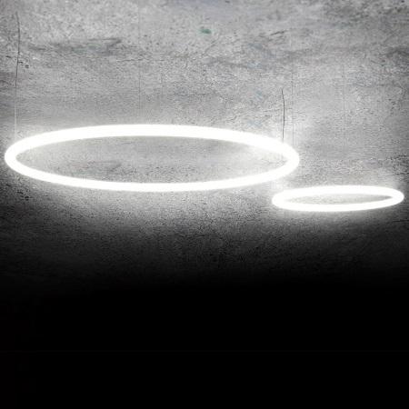 ARTEMIDE alimentazione 91W LED - 1207000APP - ALFHABET OF LIGHT CIRCULAR 155 SOSPENSIONE  - App Compatible