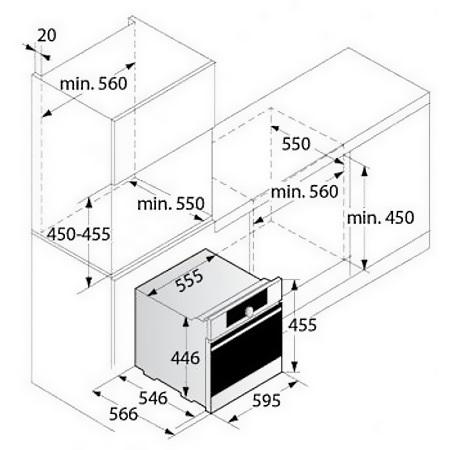 Asko Combinato microonde Pro Series da incasso - OCM 8476 S