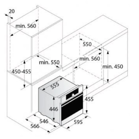 Asko Combinato a vapore Pro Series - OCS 8456 S