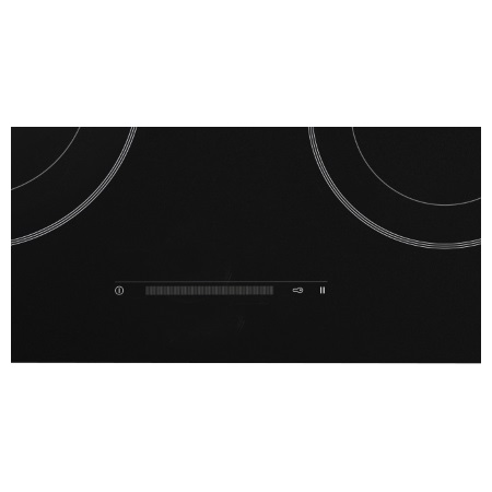 Asko Piano cottura a induzione in vetro nero - HI 17111 G