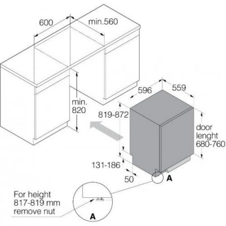 Asko Lavastoviglie incasso 13 coperti - Dfi433b1