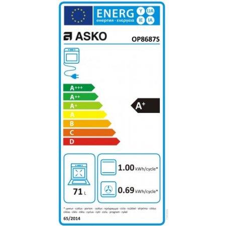 Asko Forno elettrico 3400 w - Ot 8637 S