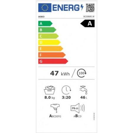 Asko Classe energetica: A - W 2086 R.w