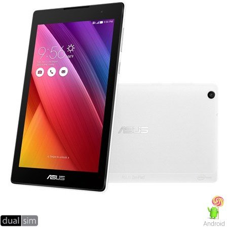 "Asus Display IPS Multitouch da 7"" - ZenPad 7 White 16GB 3G Z170cg-1b030a"