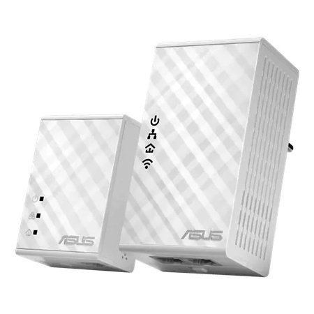 Asus - AV500 Powerline Adapter Kit - PL-N12