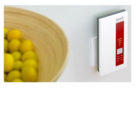 FRITZ! WLAN Repeater 1750E Extender di segnale: Aumenta in modo semplice e rapido la portata di tutte le reti wireless