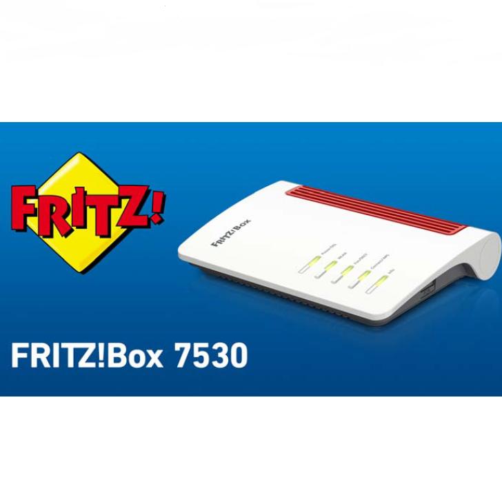 AVM NUOVO: FRITZ!Box 7530 Edition International di AVM L'introduzione ideale ad una rete superveloce con Internet fino a 300 Mbit/s - Fritz!Box 7530