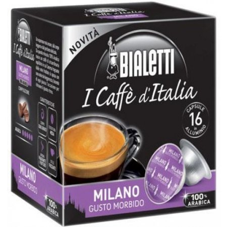 Bialetti Capsule Bialetti - 16 Capsule Milano - 096080070m