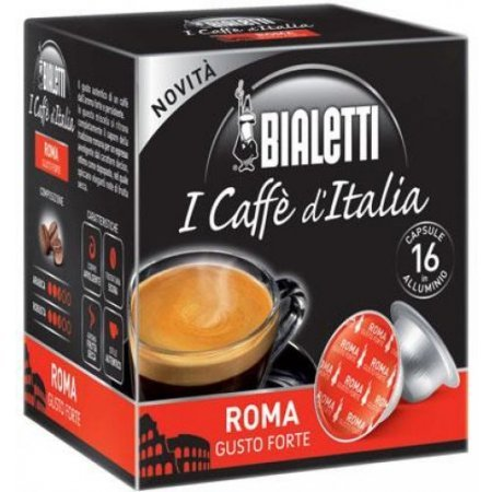 Bialetti Capsule Bialetti - 16 Capsule Roma - 096080072m