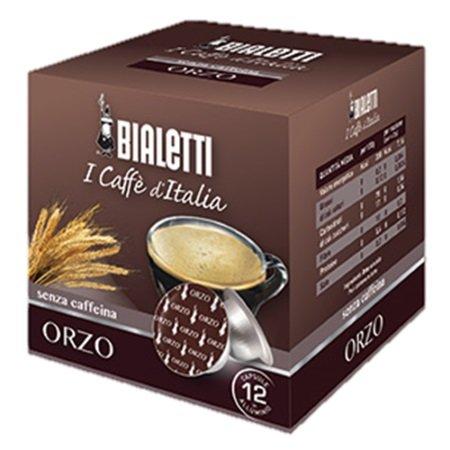 Bialetti Accessori caffetteria - 12 Capsule Orzo Compatibili Mokespresso