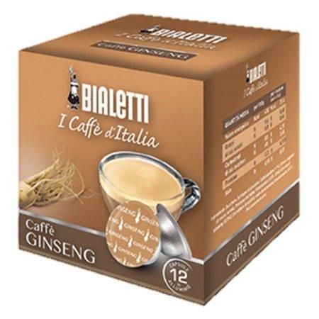 Bialetti Accessori caffetteria - 12 Capsule Caffè Ginseng Compatibili Mokespresso