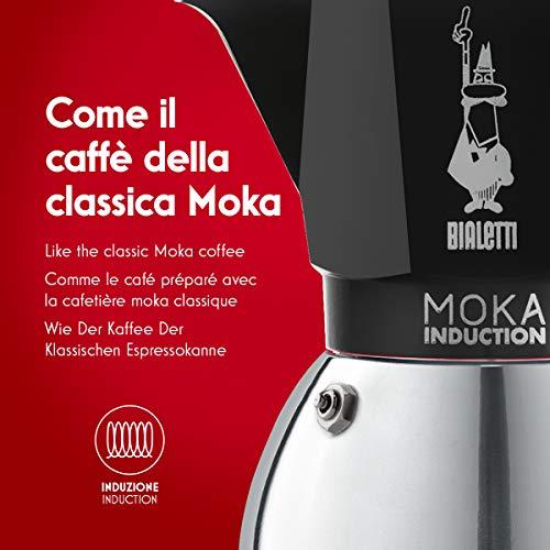 Bialetti Moka Induction 0006932 Moka ad induzione, a gas