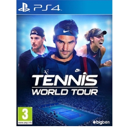 Big Ben Tennis World Tour - PS4 Tennis World Tour