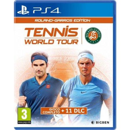 Bigben Gioco adatto modello ps 4 - Ps4 Tennis World Tour