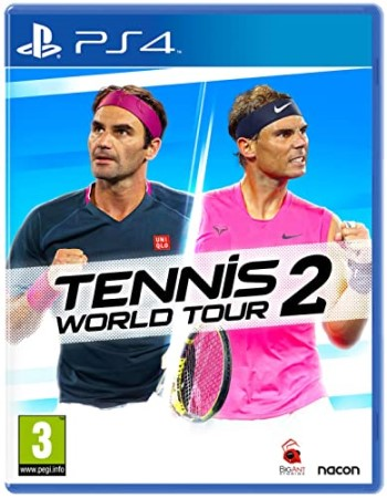 Bigben Gioco PS4 - Tennis World Tour 2