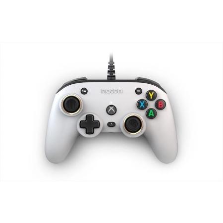 Nacon Controller - PRO Compact Bianco