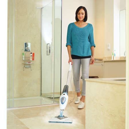 Black & Decker Scopa lavapavimenti a vapore - Steam Mop Fsm1616