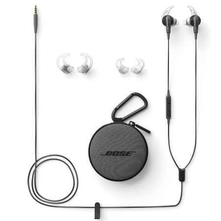 Bose Auricolari con filo - Soundsport Ie Hdphn And Charcoal Bl