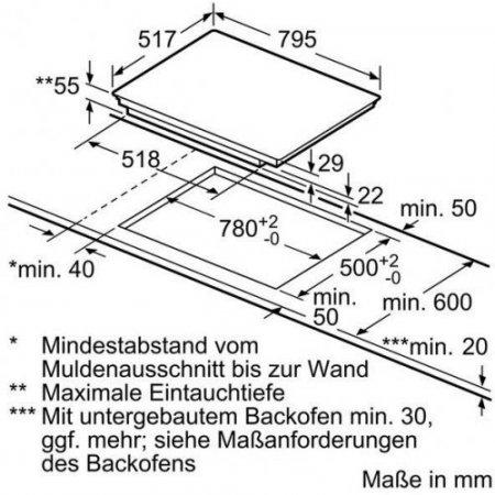 Bosch Piano cottura ad induzione - Pvs845fb1e