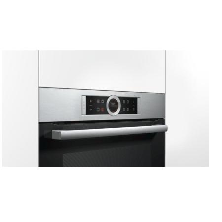 Bosch Aria calda 4D: perfetta distribuzione del calore sui multilivelli del forno - Serie 8 Forno multifunzione pirolitico - Hbg675bs1