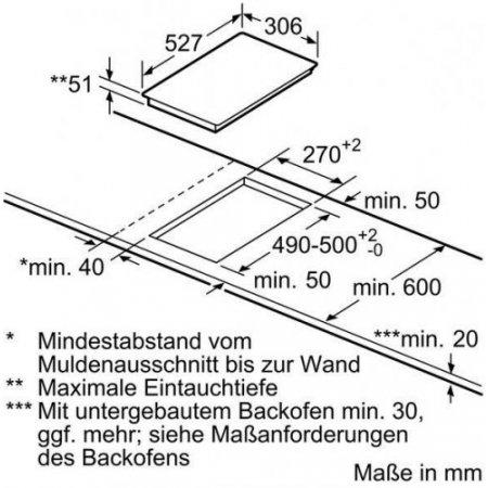 Bosch Piano cottura ad induzione - Pib375fb1e