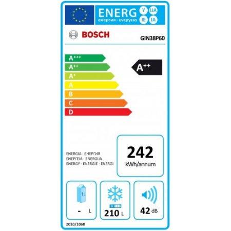 Bosch Congelatore incasso n/f - Gin38p60