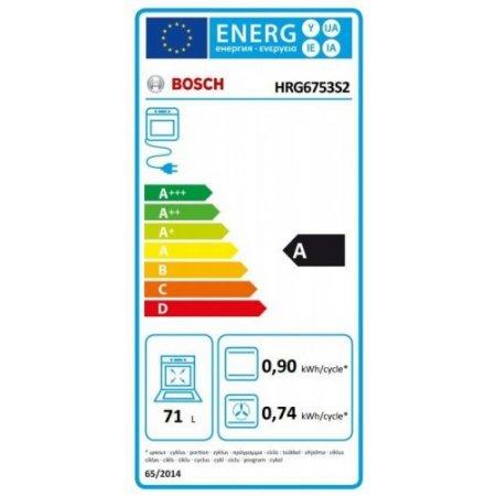 Bosch Forno elettrico 3600 w - Hrg6753s2