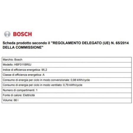 Bosch Forno elettrico 2970 w - Hbf011br0j