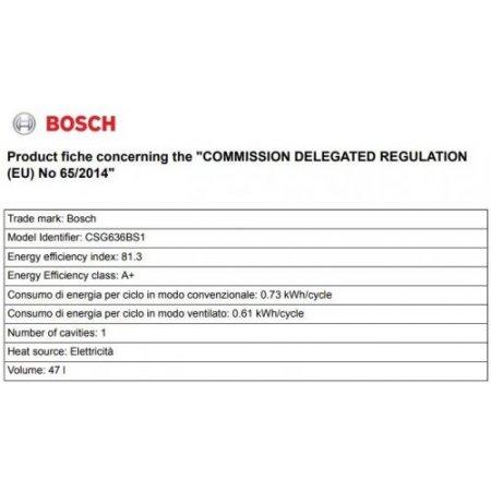 Bosch Forno elettrico 3300 w - Csg636bs1