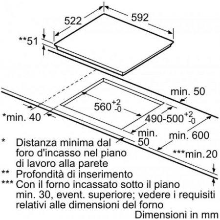 Bosch Piano cottura ad induzione - Pue611bb1e