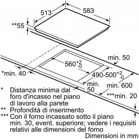 Bosch Piano cottura ad induzione - Pvs645fb5e