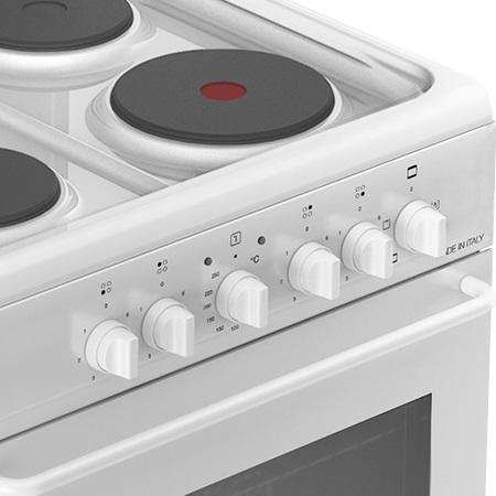 Bompani Cucina elettrica 4 piastre elettriche - Bi650jb/e