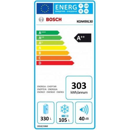 Bosch Frigo combinato 2 porteno frost - Kgn49xl30
