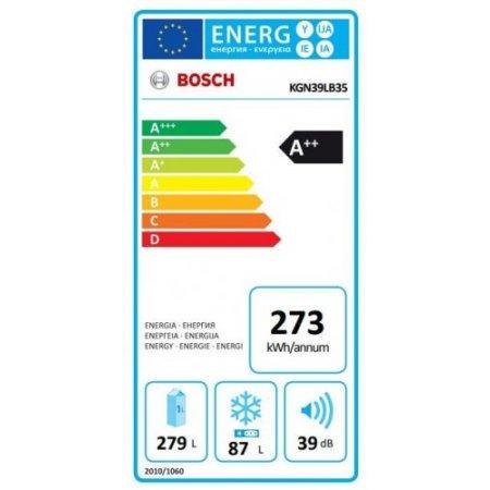 Bosch Frigo combinato 2 porte no frost - Kgn39lb35