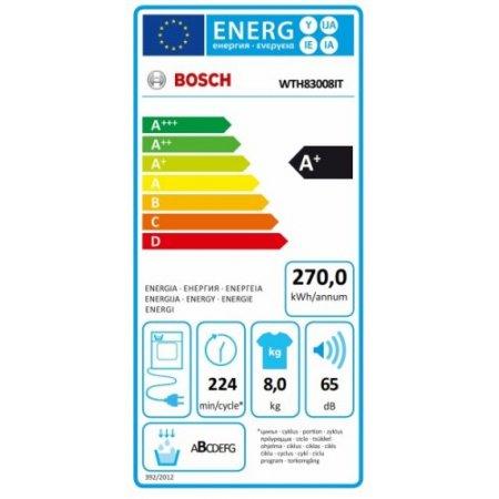 Bosch Asciugatrice a condensazione - Wth83008ii