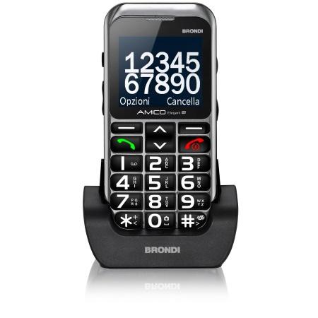 Brondi Cellulare - Amico Elegant 2nero