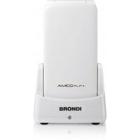 Brondi Cellulare - Amico Flip Plusbianco