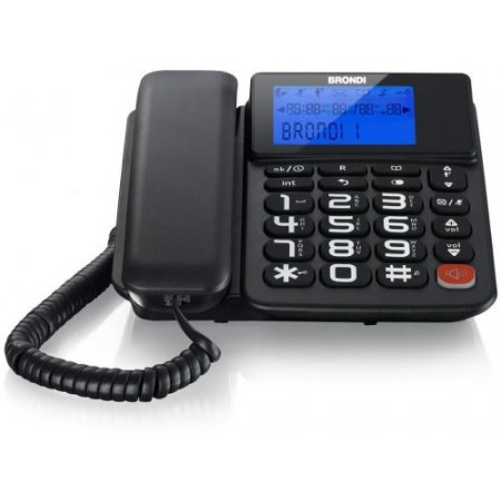 Brondi Telefono a filo - Bravo Style Combo