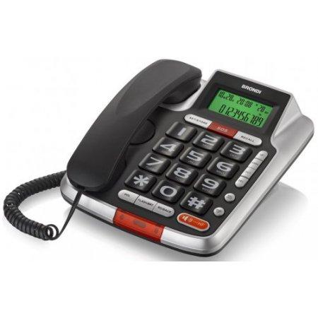 Brondi Telefono a filo - Bravo 105 lcd
