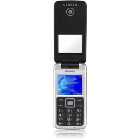 Brondi Cellulare quadband gsm - Window  nero