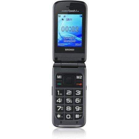Brondi Cellulare quadband - Amico Grande 2 Lcd