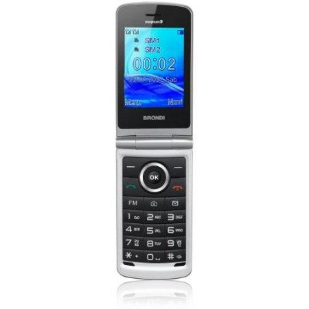 Brondi Cellulare quadband gsm - Magnum 3bianco