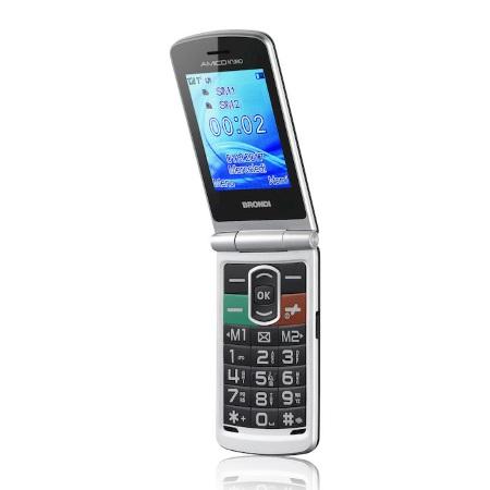 Brondi Cellulare quadband - Amico N°Uno Silver