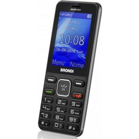 Brondi Cellulare quadband - Brio Nero