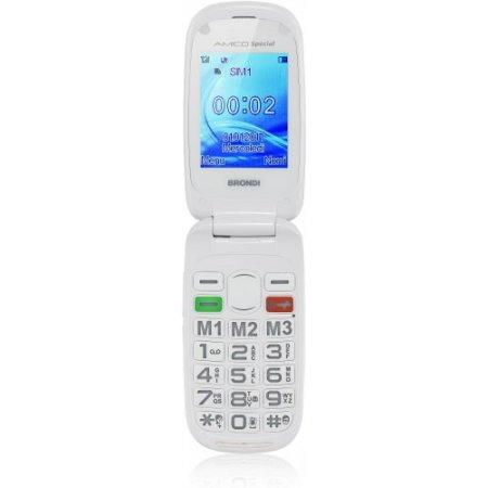 Brondi Cellulare quadband gsm - Amico Special Bianco