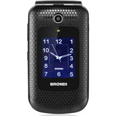 Brondi Cellulare quadband gsm - Amico Fedele Nero