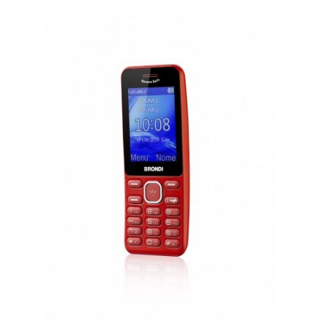 Brondi Cellulare quadband - Banana Split Rosso